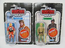 Luke Skywalker Snowspeeder Bespin Outfit Retro Collection Vintage-Style Figures