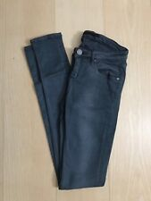 Victoria Beckham Main Line Dark Grey Skinny Jeans Size 25