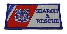 Uscg Coast Guard Search And Rescue Flag Patch Semper Paratus Sar Maritime