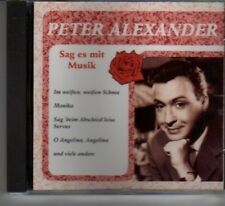 (BB466) Peter Alexander, Sag Es Mit Musik - CD
