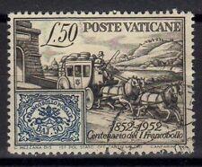 Vaticano 1952 Centenario 1° Francobollo dent. 13 x 12 3/4 USATO (075)