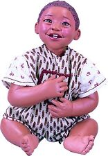 African American New Porcelain ABC Baby Boy Rusty Doll