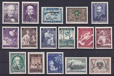 Österreich Jahrgang  1954 postfrisch** 16 Werte