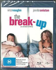 THE BREAK UP AN EX RATED COMEDY VINCE VAUGHN JENNIFER ANISTON NEW BLURAY