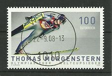 Austria/Ski Jumping-TH. Morgenstern MiNr 2777 O first-day temple