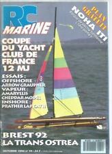 Rc marine nº 19 airow graupner/amaryllis-chedda r model/prather lap cat Ii