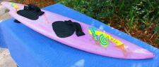 Purple O'brien Axis Wake Surf Board Wakeboard Unusual Symetry Asymetical Retro