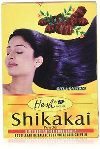 Hesh Shikakai Powder 3.5oz (100g) 3.5oz for Hair Loss Hair Fall Control