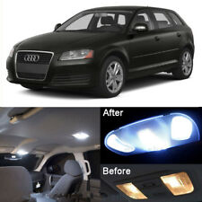 Canbus White 12 Pieces car LED Interior Lights Package Fit 06-13 Audi A3 S3 8P