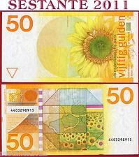 NETHERLANDS  OLANDA -   50 GULDEN 4.1. 1982  - P 96  -  SPL- / XF-