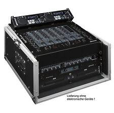 DJ CASE 10/6HE RACK für Mischpult, CD-Spieler, Endstufen, Funkmikrofone 19 Zoll