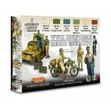 Lifecolor CS14 WWII Uniforms Italian Regio Esercito 6 x 22 ml (100ml = 13,64€)