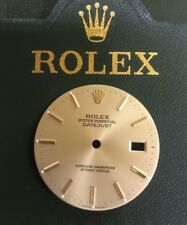 Rolex Vintage Champagne Index Dial T Swiss Made T For Datejust 16013 3035 36mm