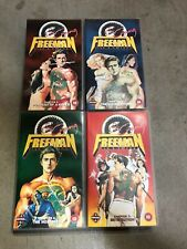 VHS video tapes Crying Freeman chapters 1-4 manga series,  PAL great condition