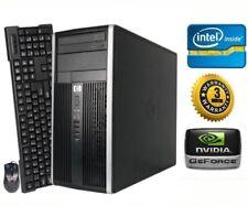 GeForce GTX 1650 HP Gaming PC Desktop - Intel Quad Core, Win 10, 8GB RAM, 1TB