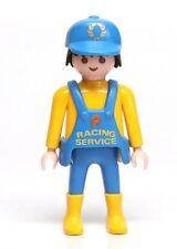 Playmobil Figure Racing Formula 1 Indy Race Car Pit Crew Service Mechanic 3738