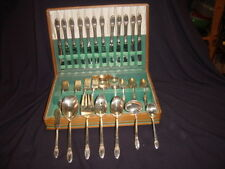 Rogers First Love SP Flatware Set (79 Pcs)