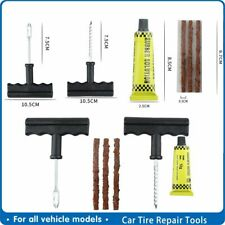Car Tire Repair Tools Tubeless Tyre Puncture Repair Plug Kit Needle Patch Fix