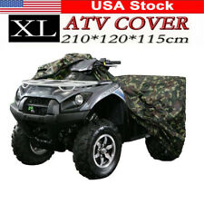 XL ATV Cover Camouflage Waterproof Dustproof Anti-UV for Honda Yamaha Can-Am
