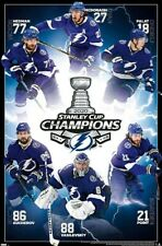 Tampa Bay Lightning 2020 STANLEY CUP CHAMPIONS Commemorative 22x34 Wall POSTER