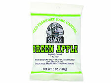 3 packages of Claeys Green Apple Drops Hard Candy with Free Shipping