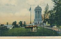 NEW YORK CITY - Soldiers and Soldiers Monument Riverside Drive showing Cannon