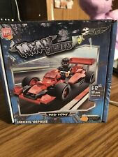 New in Box Red Fury Car Mean Streets Building Block Tech Set Ages 6-12