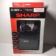 Sharp El-1801V Portable 12-Digit 2-Color Compact Printing Calculator