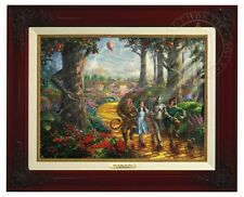 Thomas Kinkade - Wizard of Oz - Canvas Classic (Brandy Frame)