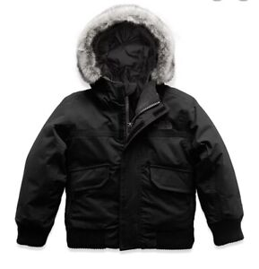 Boys 4T The North Face Gotham Down Snow Jacket Black $198