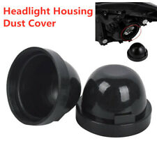 2PCS Car Rubber Housing Seal Cap Dust Back Cover For LED HID Headlight Retrofit
