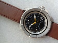 RARE BLACK DIAL ST STEEL  FASTRACK MEN'S QUARTZ WRISTWATCH