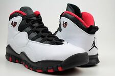NIKE AIR JORDAN 10 RETRO DOUBLE NICKEL sz 6Y WHITE BLACK TRUE RED 310806 102