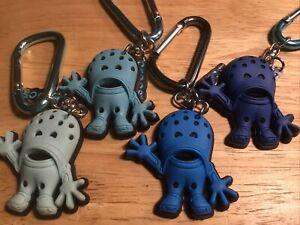 CROCS Croslite Guy Key Chain BLUE Advertising Figurines Action Figure Toys