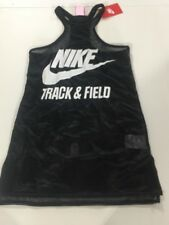 Nike Women's sz XS Track And Field Fly Tank Top NEW $70 644171 011 Black