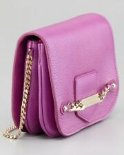 JIMMY CHOO 'shadow' Orchid Pink Cross Body Shoulder Small Hand Bag Purse