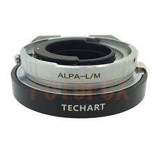 ALPA-LM Adapter for Alpa Lens to Leica M L/M M9 M8 M7 M6 & TECHART LM-EA 7 Brass