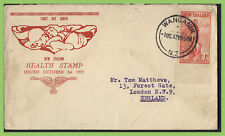 New Zealand 1937 Health stamp First Day Cover