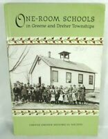 One-room Schools in Greene and Dreher Townships Illustrated 2011 Paperback RARE