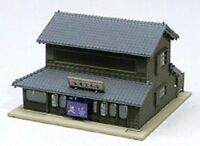 N scale Corner Shop with Traditional Eaves  Kato 23-452