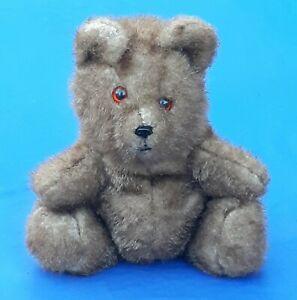 Early Vintage Mary Meyer Blue Label Stitched Teddy Bear w/Starburst Eyes Undated