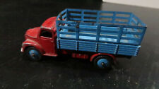 Dinky Early Dodge Cattle Truck Blue Red