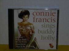 CD - CONNIE FRANCIS - SINGS BUDDY HOLLY