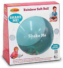 Edushape Sensory Toy Ball For Baby And Toddlers (7 Inch) - Multi-Color Mini Nois