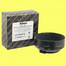 Genuine Nikon HS-12 Metal Lens Hood for AiS AI-S 50mm f/1.2 (Manual Focus)