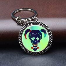 Suicide Squad Harley Quinn Christmas Mens Alloy Keyfob Gift Car Keyring Keychain