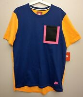 Nike Tech Hypermesh Pocket T-Shirt Sample Color Mens Size Large 776675 455 L New