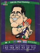 2010 Teamcoach Star Wildcard SW-06 Paul Haselby Fremantle Dockers