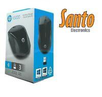 HP X3000 Wireless Mouse Optical Black USB 1200dpi K5D27AA#ABL