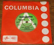 "SOLOMON KING ~ BLESS YOUR HEART b/w SUGAR SWEET ~ UK COLUMBIA DEMO 7"" 1969"